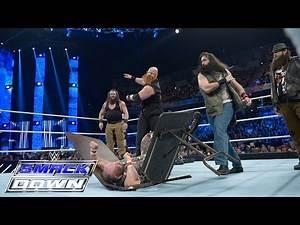 The Dudley Boyz vs. Brawn Strowman & Erick Rowan: SmackDown, November 26, 2015