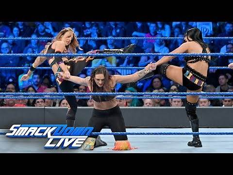 The IIconics vs. Brooklyn Belles - WWE Women's Tag Team Title Match: SmackDown LIVE, April 9, 2019