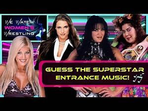 We Guess the WWE Entrance Music/Themes from the 80s, 90s and Early 2000s
