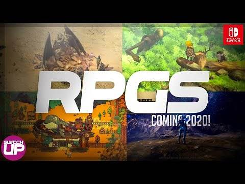10 BEST RPG's Coming to Nintendo Switch 2020!