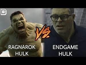 Professor Hulk Vs Incredible Hulk | Avengers Endgame In Hindi | BlueIceBear
