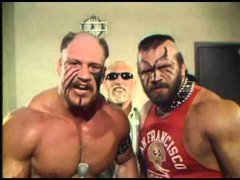 Classic AWA Wrestling - The Road Warriors