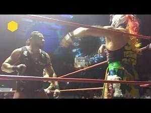 Hijo del Fantasma vs Psycho Clown vs Puma King vs Electroshock, AAA vs Elite en Tijuana