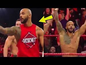 WWE RAW   Ricochet makes his main roster debut vs Lio Rush & Bobby Lashley