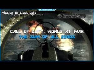 The Sum Of All Zeros - Call of Duty: World at War - Trophy / Achievement Guide