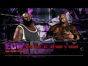 WWE 2K18 Mark Henry vs Big Daddy V/Viscera