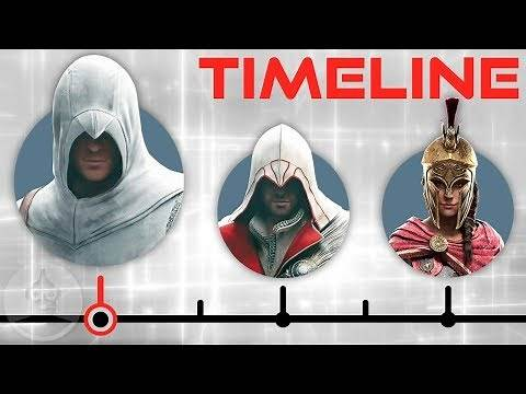 The Assassin's Creed Timeline - Odyssey to Syndicate | The Leaderboard