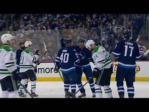 Dallas Stars vs Winnipeg Jets - February 14, 2017 | Game Highlights | NHL 2016/17