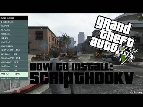 How to install Script Hook V for GTA 5 PC! (Tutorial)