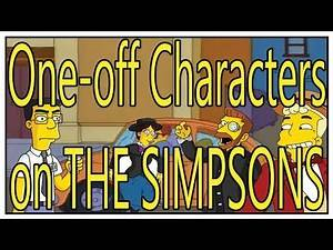 The Simpsons One-off characters. Which one is your Favorite?