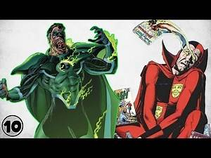 Top 10 Super Villains With Powers No One Understands