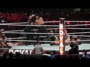 Royal Rumble - Undertaker Vs Roman Reigns - Alamodome - San Antonio, TX - 1/29/17