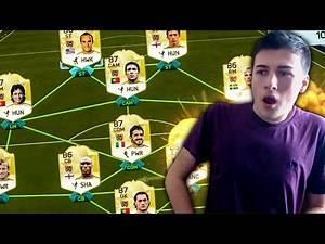 OMFG FULL LEGEND TEAM WAGER!!! FIFA 16