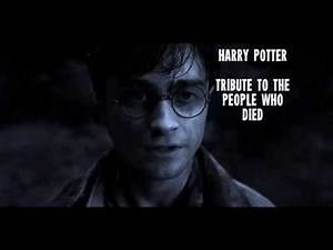 harry potter tribute to the people who died
