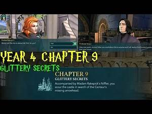 Harry Potter Hogwarts Mystery Year 4 Chapter 9 Glittery Secrets Gameplay