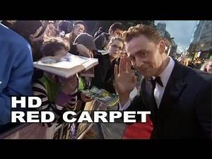 Thor 2: The Dark World: Tom Hiddleston Arrival and Fashion Shots at the World Premiere