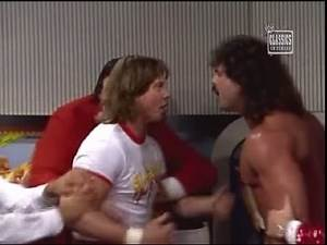 Roddy Piper and Rick Rude Confrontation on Prime Time Wrestling (08-21-1989)