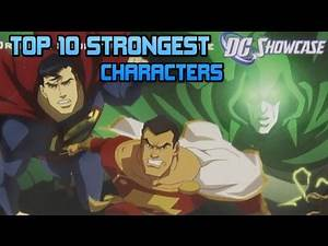Top 10 Strongest DC Showcase Characters