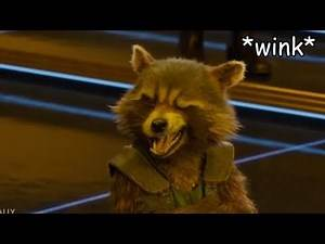Rocket Racoon Insults the Whole Marvel Universe
