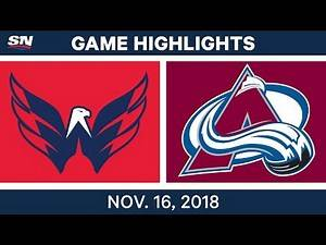 NHL Highlights | Capitals vs. Avalanche – Nov. 16, 2018