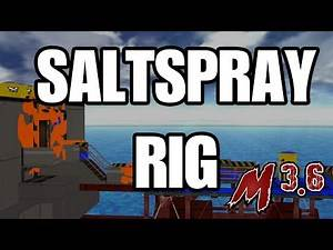 New Stage: Saltspray Rig [Smash Bros. Legacy M 3.6]