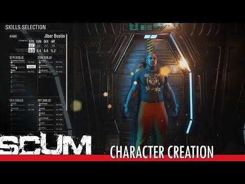 SCUM - Character Creation & Customization
