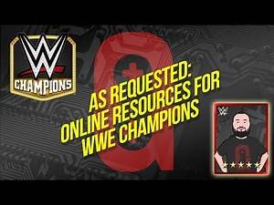 WWE Champions - Online resources to help you out with the game 👍🏻