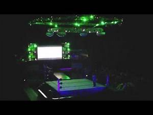 Best wrestling figure arena in the world: Jeff Hardy entrance