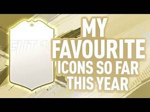 MY FAVOURITE FIFA 20 ICONS