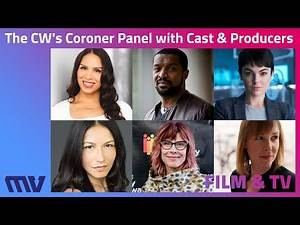 The CW's Coroner Cast and Producers Q&A