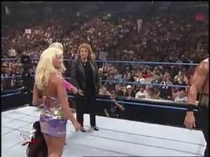 Jeff Jarrett attacks Moolah and Mae Young 9/9/1999