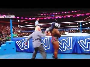 Funny WWE RAW Moment - My favourite Ric Flair Moment 2013 (Old School Raw)