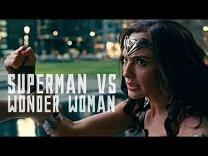 JUSTICE LEAGUE - Superman vs. Wonder Woman Fight Scene - (HD) 2017