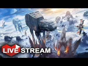 Star Wars Battlefront | Galactic War Across 5 Planets | Live Stream Gameplay
