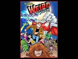 Rabbitearsblog's Random Review #15: Archie's Weird Mysteries Comic Book Series