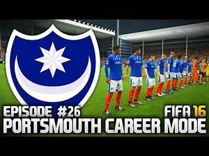 FIFA 16: PORTSMOUTH CAREER MODE #26 - NEW STRIKER!!!