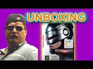 Robocop Trilogy Blu Ray Unboxing