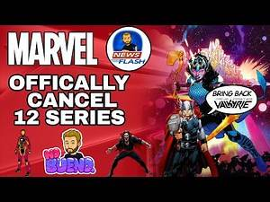 Marvel Comics Officially CANCEL 12 SERIES, More Still Unknown