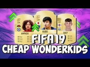 TOP 10 FIFA 19 CHEAP CAREER MODE WONDERKIDS! (UNDER £3M & 85+ POTENTIAL)