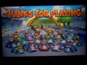 Mario Kart 7 - 150cc - Lightning Cup & Ending