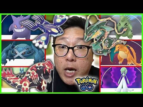 TOP 10 BEST MEGA EVOLUTIONS IN POKEMON GO
