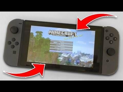 BEST MINECRAFT EVER!?!? Minecraft NINTENDO SWITCH EDITION!!