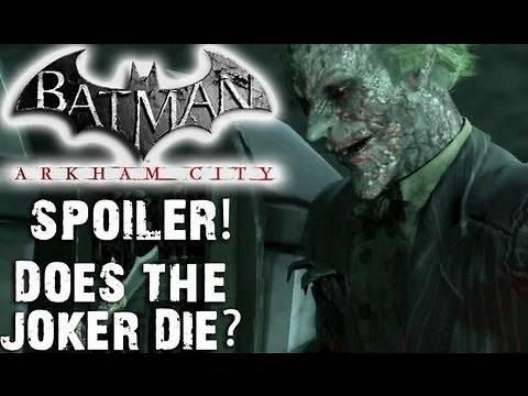 Spoiler - Does Joker Really Die in Batman: Arkham City?