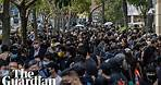 Hong Kong: British diplomat among thousand-strong crowd backing activists