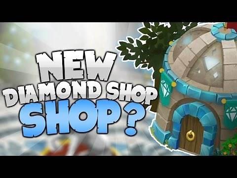 NEW DIAMOND SHOP IN ANIMAL JAM?