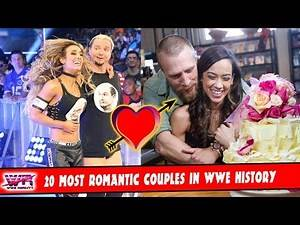 20 Most Bizarre Romantic Couples In WWE history HD