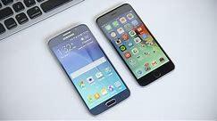 Samsung Galaxy S6 vs iPhone 6!