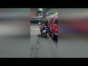 Apparent road rage fight caught on camera