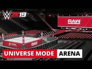 WWE 2K19 Universe Mode - *NEW* RAW Arena 1st Draft Pick Revealed!