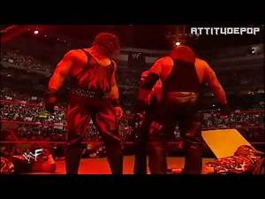 WWE - Kane getting off ring in style- compilation